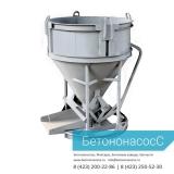 Бадья для бетона, объем 1 000 кг, груз-ость 2 600 кг