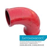 Колено бетоновода (DN100,R180, 90)