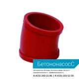 Колено бетоновода (DN125,R240,15)