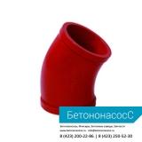 Колено бетоновода (DN125,R1000, 45)