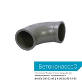 Колено бетоновода (DN125,R180,90)