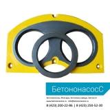 Шиберная плита и кольцо CIFA (DN200)