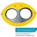 Шиберная плита и кольцо MITSUBISHI (DN205)