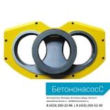 Шиберная плита и кольцо PUTZMEISTER (DN250)