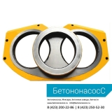 Шиберная плита и кольцо PUTZMEISTER (DN200)