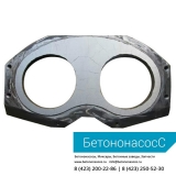 Шиберная плита и кольцо PUTZMEISTER (DN280)