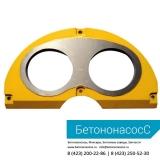 Шиберная плита и кольцо SERMAC (DN180)