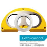 Шиберная плита и кольцо SERMAC (DN230)