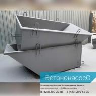 Тара для раствора (трапеция) объем 500 л, груз-ость 1 250 кг