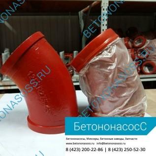 Колено бетоновода (DN125,R240, 60)