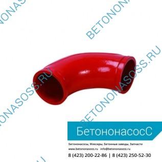 Колено бетоновода (DN100,R275, 45)