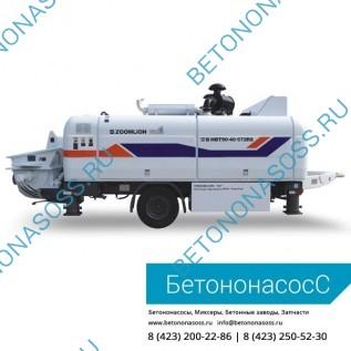Стационарный бетононасос Zoomlion HTB 90.18.195RSU