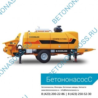 Стационарный бетононасос Zoomlion HTB 80.14.174RS
